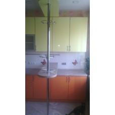 Кухня  угловая с барной